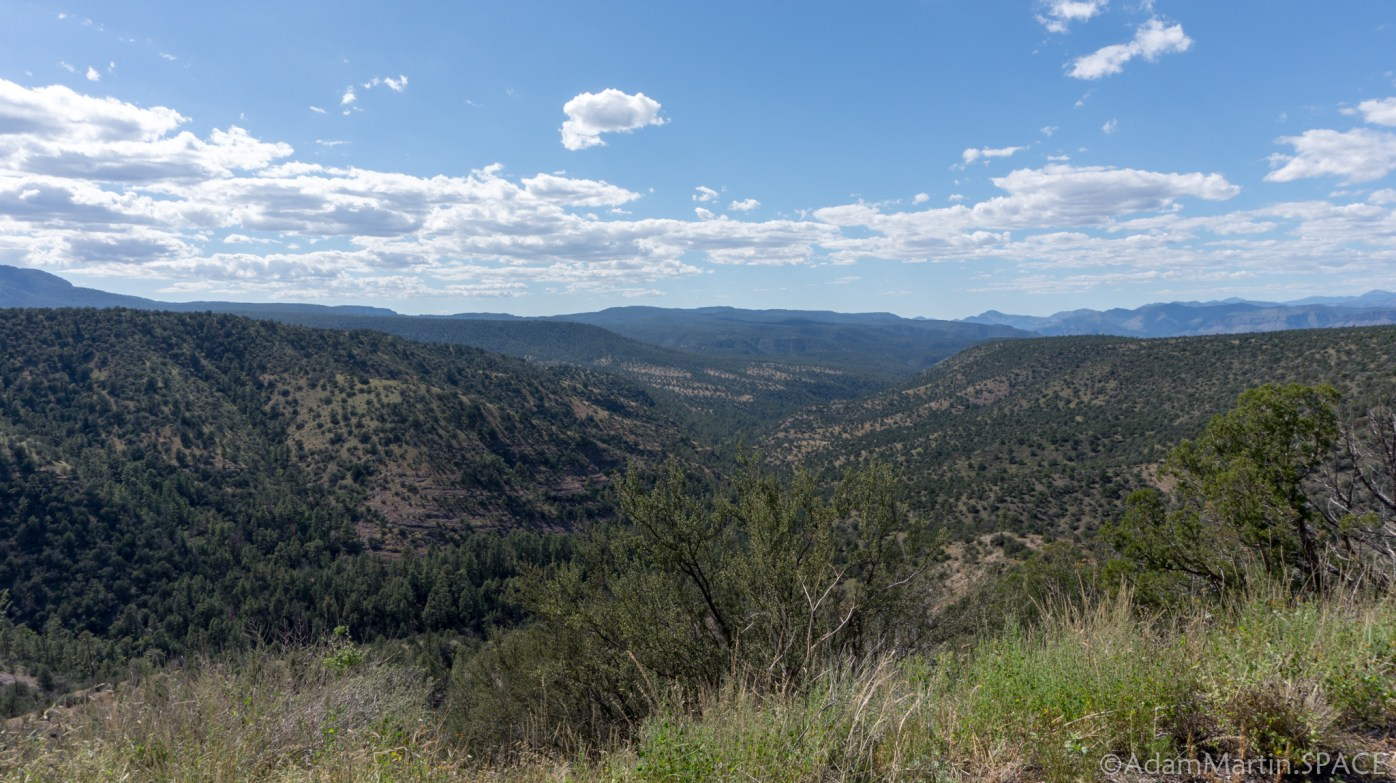 Gila National Forest – Views of the canyons