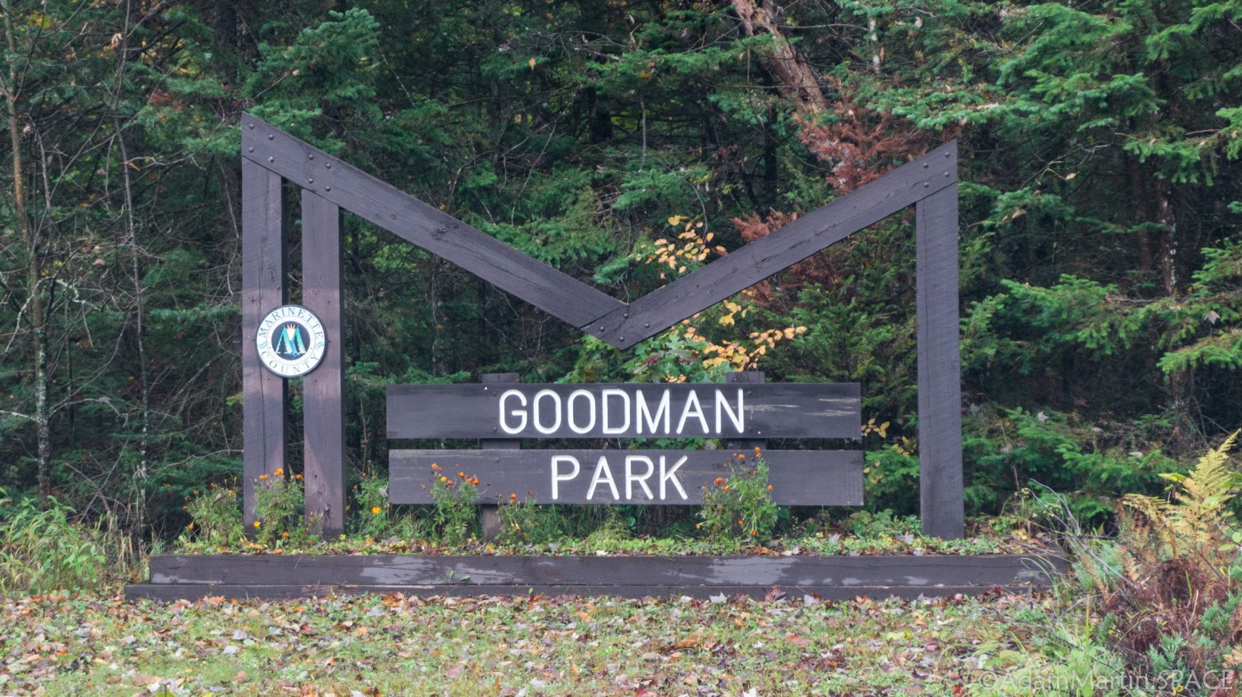 Goodman Park - Entrance Sign