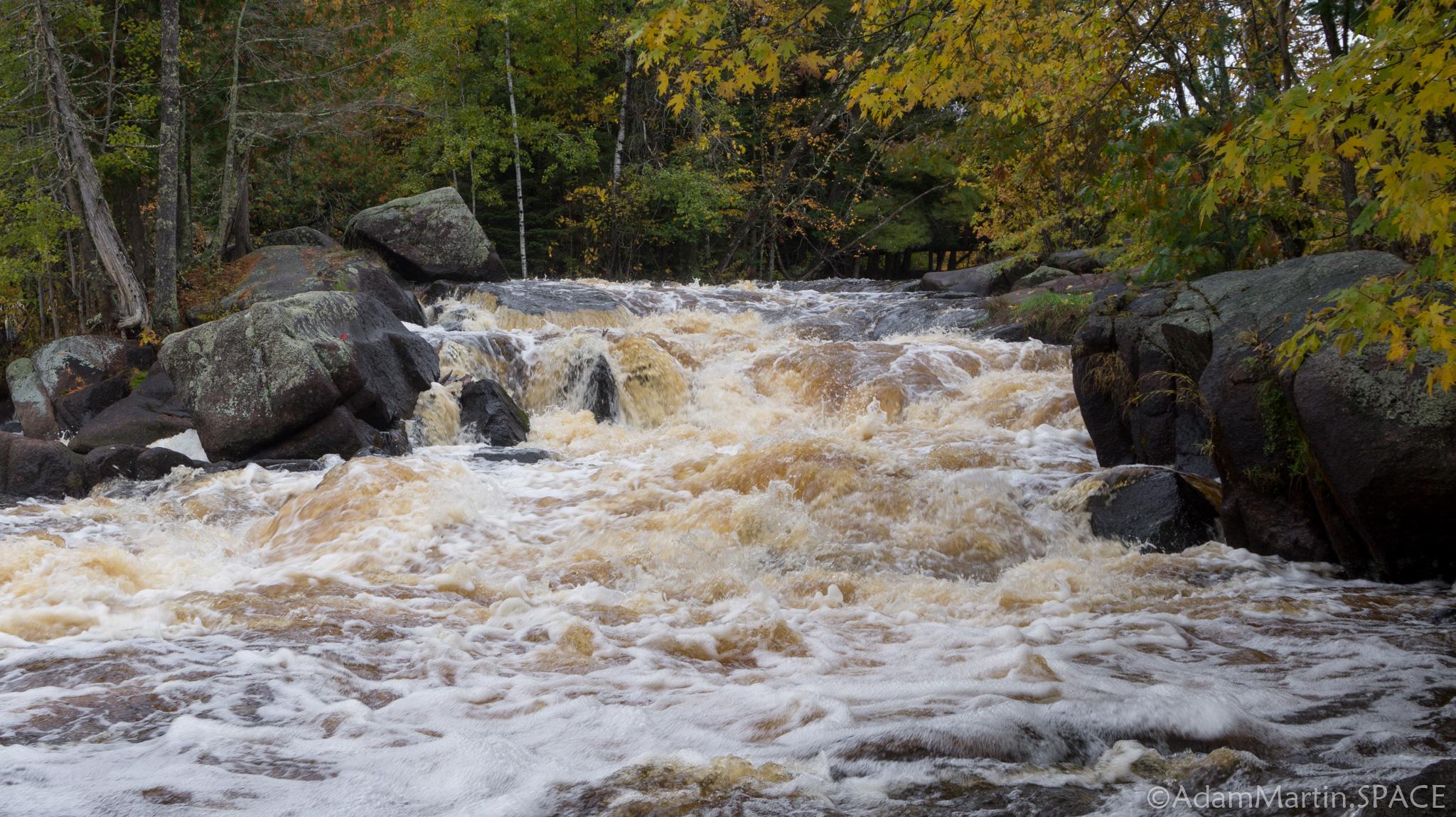 Strong Falls - Main Falls View