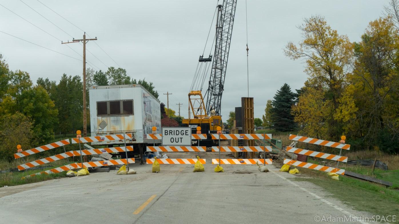 Fonferek's Glen - Road Closed For Construction