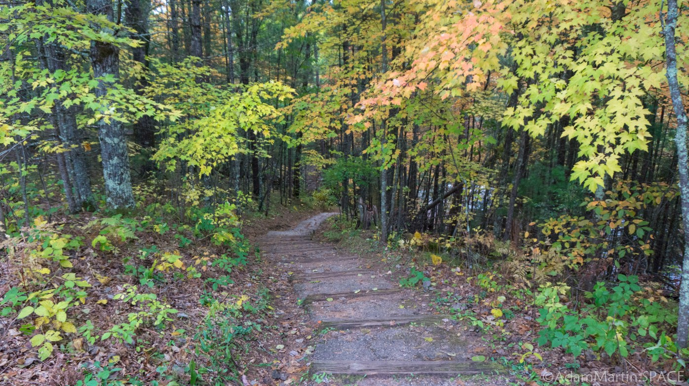 Veterans Memorial Park - Stairs to Falls
