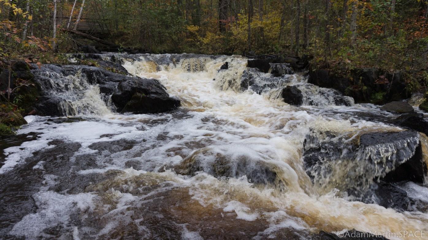 Waupee Creek Rapids - Main Falls View