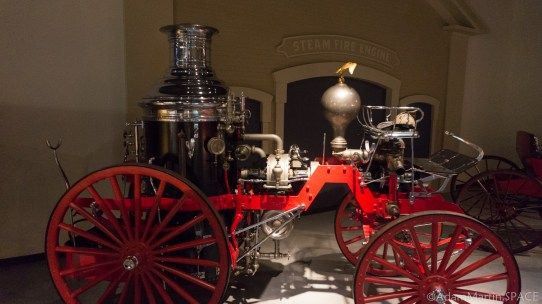 Old Wade House - Steam fire engine carriage
