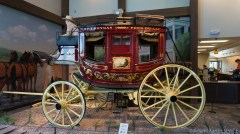 Old Wade House - Ornate carriage at entrance