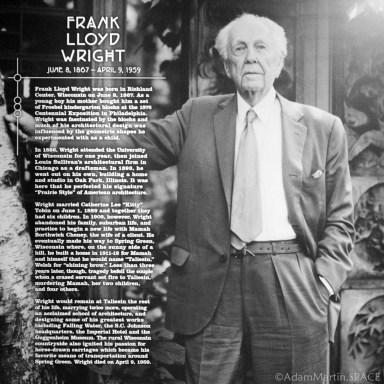 Old Wade House - Frank Lloyd Wright exhibit