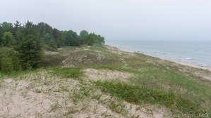 Kohler-Andrae State Park - Dunes high above Lake Michigan from Cordwalk trail