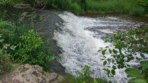 Menomonee Falls waterfall