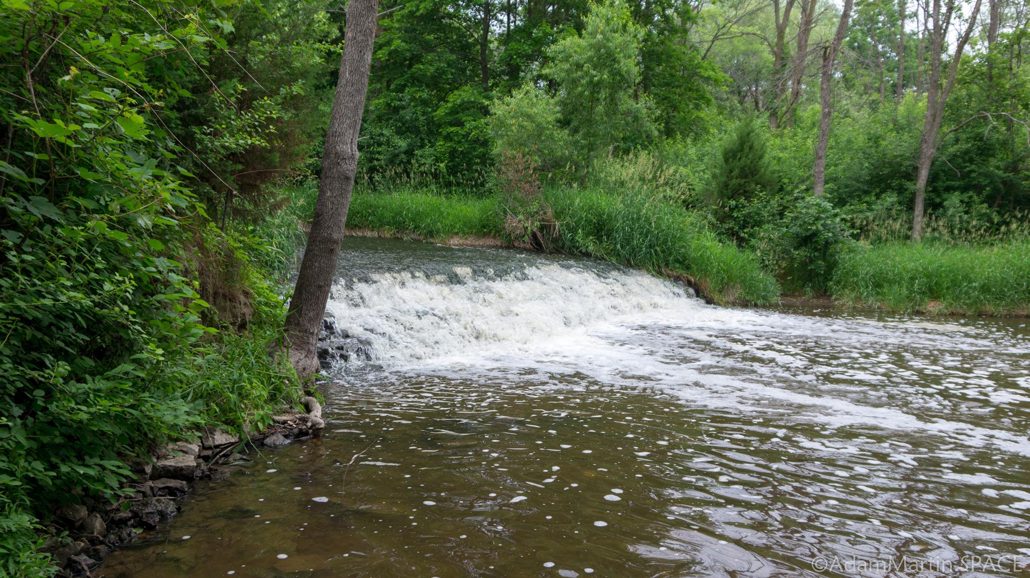 Menomonee Falls waterfall