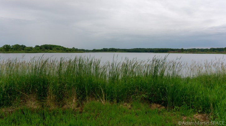 Richard Bong - Visitor Center Nature Trail view of Wolf Lake