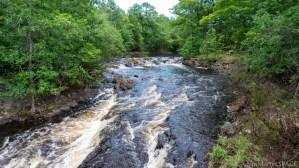 Kimball Falls - View looking upstream