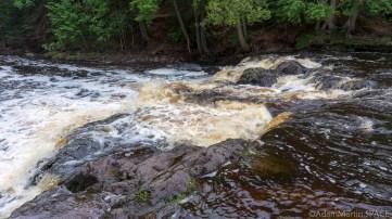 Copper Falls State Park - Top section of Tyler Forks Falls/Dells
