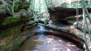 Echo Dells Falls - View from above