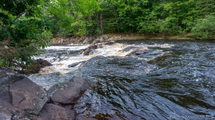 Pattison State Park - Small drop above Little Manitou Falls