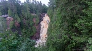 Pattison State Park - Big Manitou Falls