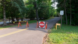 Amnicon Falls State Park - Road closed due to flooding damage