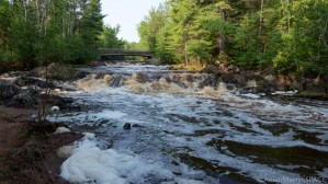 Amnicon Falls State Park - Huge rapids on Amnicon River