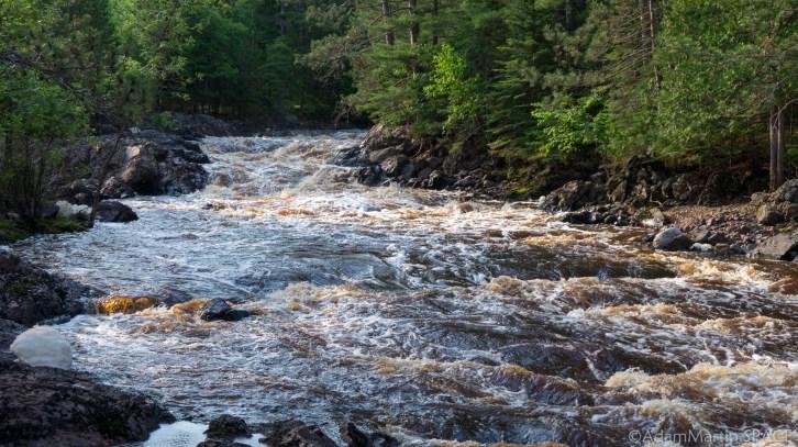 Amnicon Falls State Park - Rapids on the Amnicon River