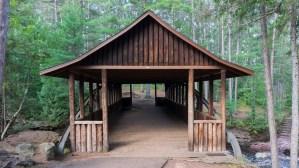 Amnicon Falls State Park - Bridge crossing over Amnicon Falls