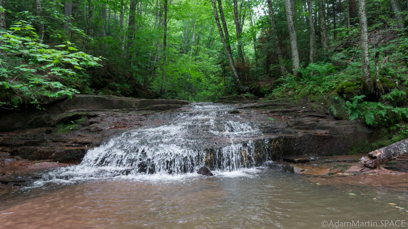 Lost Creek Falls - Waterfall/cascade downstream of main falls