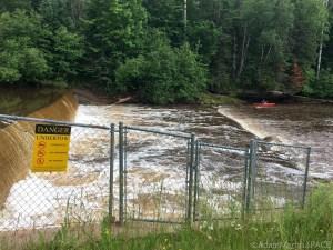Shale Falls (Failed) - Brule Dam/Spillway