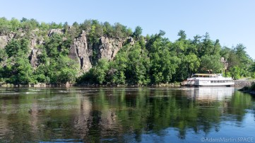 Interstate State Park - Steamboats and St. Croix River views on River Bluff Trail