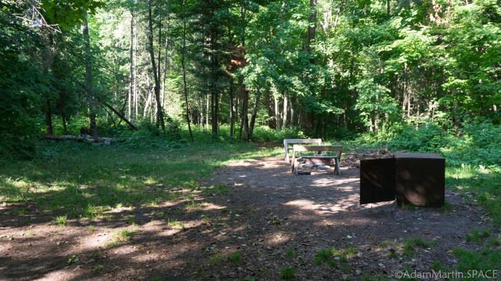 Newport State Park - Campsite #1