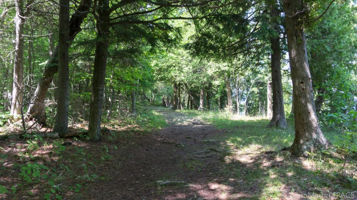 Rock Island State Park - Trail in NE part of island