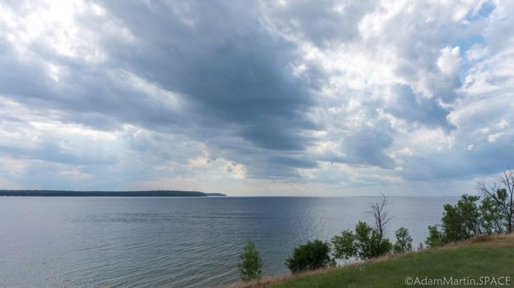 Rock Island State Park - Clouds teasing rain