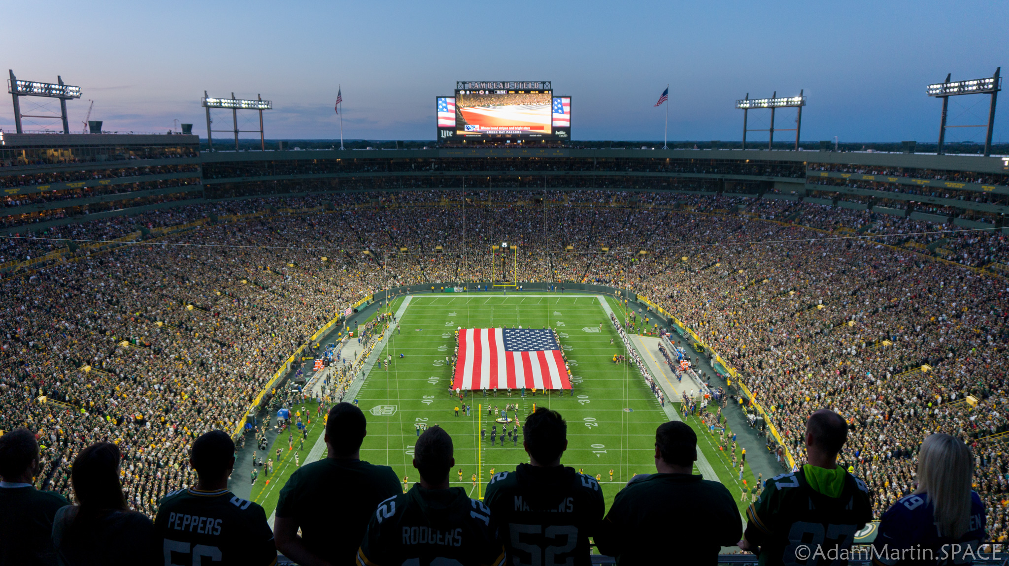 Lambeau Field - National Anthem
