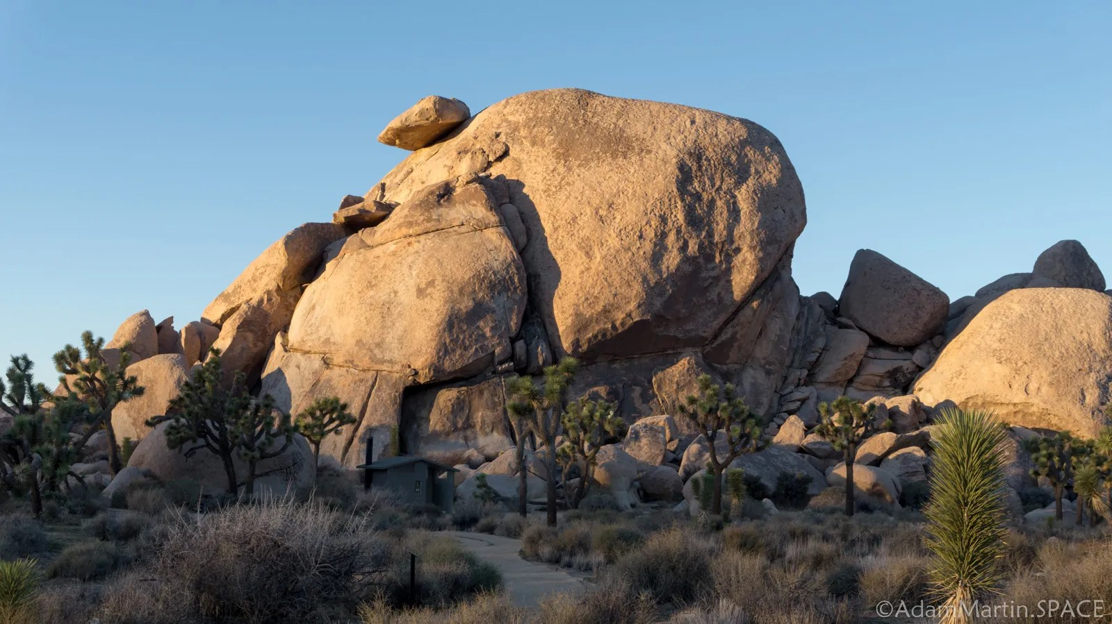 Joshua Tree National Park - Cap Rock