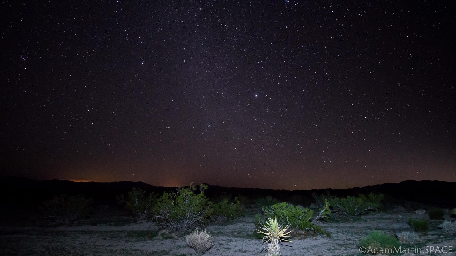 Joshua Tree - Stars at Pinto Basin