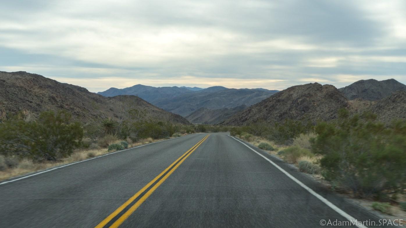 Joshua Tree - Driving Pinto Basin Road