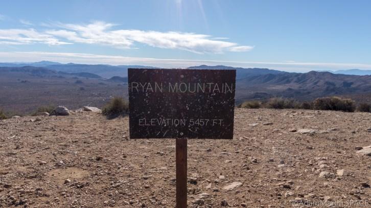 Joshua Tree - Atop Ryan Mountain