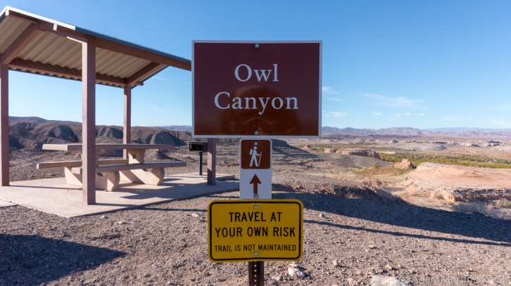 Lake Mead - Start of Owl Canyon Trail