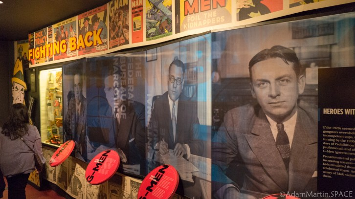 The Mob Museum in Las Vegas, Nevada