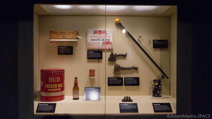 The Mob Museum - Non-Alcoholic Goods Produced During Prohibition
