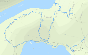 GaiaGPS hiking data @ Interstate State Park - River Bluff Trail / Echo Canyon Trail / Lake O' The Dalles Trail loop