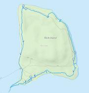 GaiaGPS hiking data @ Rock Island State Park