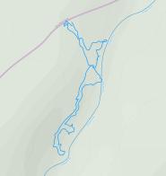 GaiaGPS hiking data @ Big Bull Falls