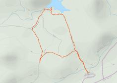 GaiaGPS hiking data @ Joshua Tree - Barker Dam Nature Trail