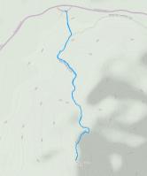 GaiaGPS hiking data @ Joshua Tree - Ryan Mountain