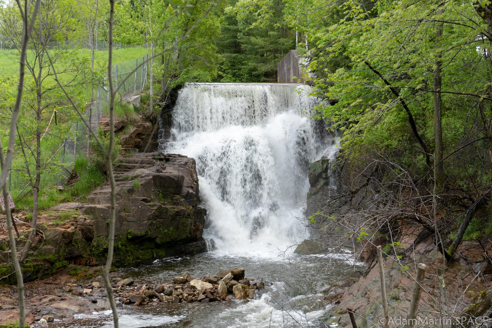 Lake Redstone Falls - Falls/Spillway