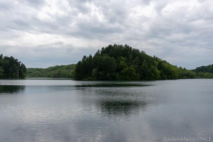 Cox Hollow Lake - Views Of The Lake