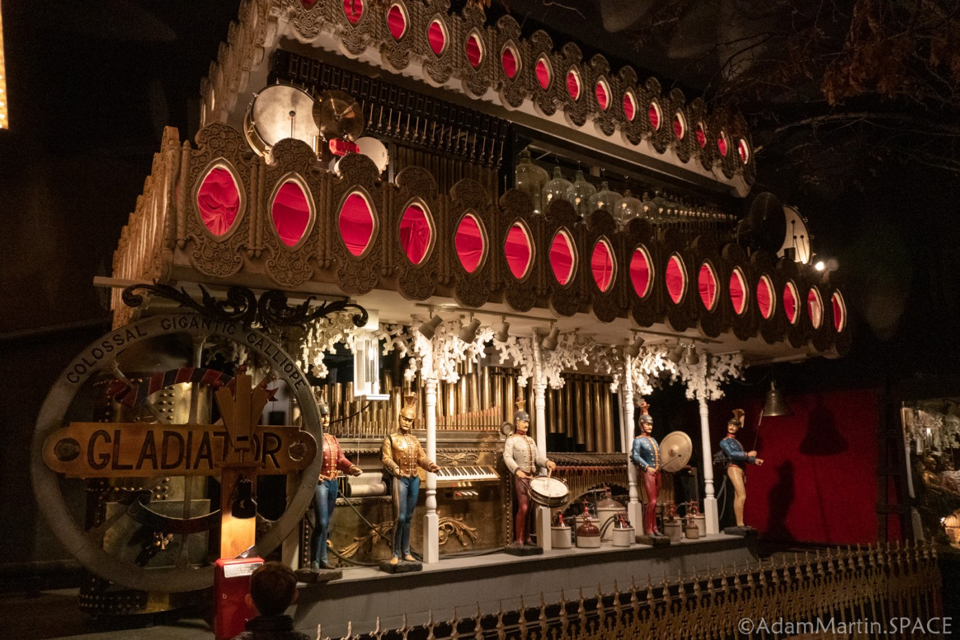 House On The Rock - Music of Yesterday - The Gladiator