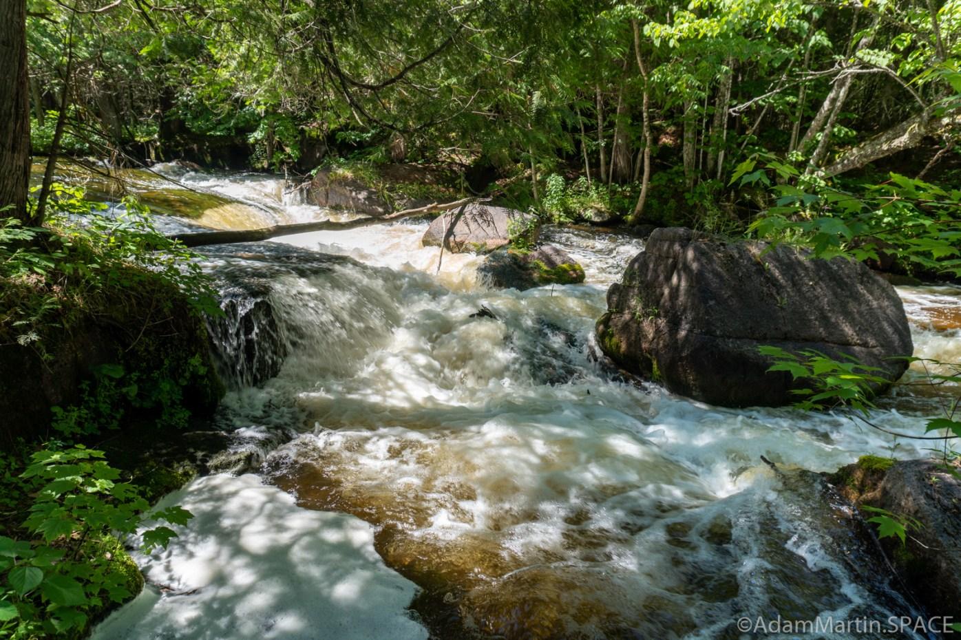 Evergreen Falls - Main falls view