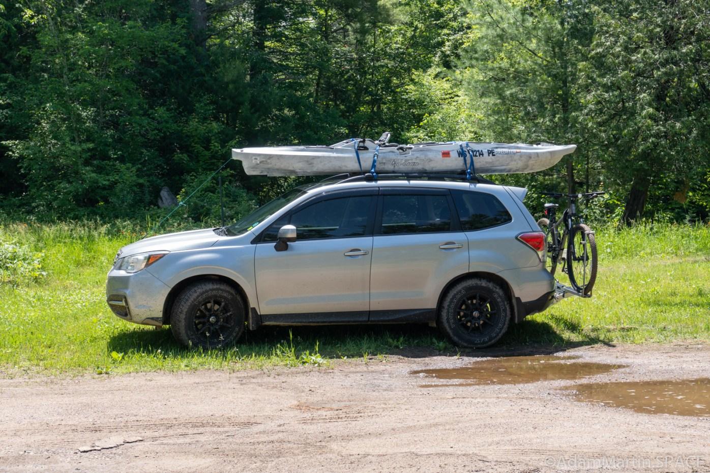 Wolf River Dalles & Tea Kettle Rapids - Gratuitous shot of my transportation