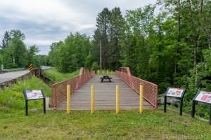 Armstrong Creek Rapids - Historic Red Bridge