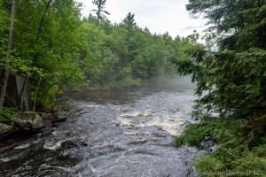 Bull Falls (Amberg) - Views downstream