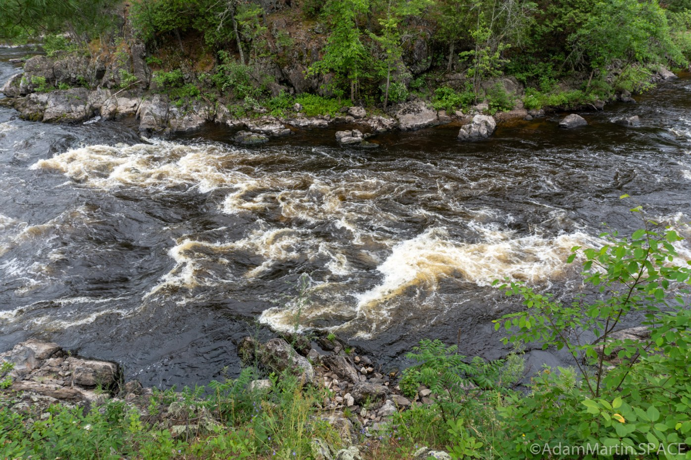 Quiver Falls Rapids