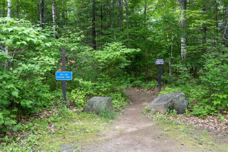 Smalley Falls - Trail start